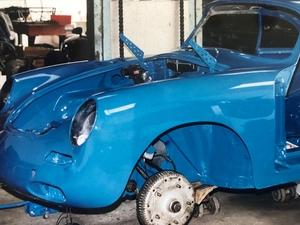 DT: 1962 Porsche 356B T-6 Notchback Coupe