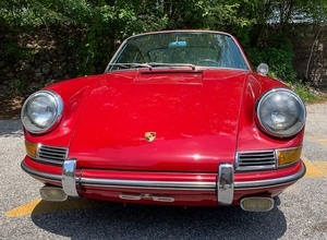 One-Owner 1966 Porsche 911 Coupe Polo Red