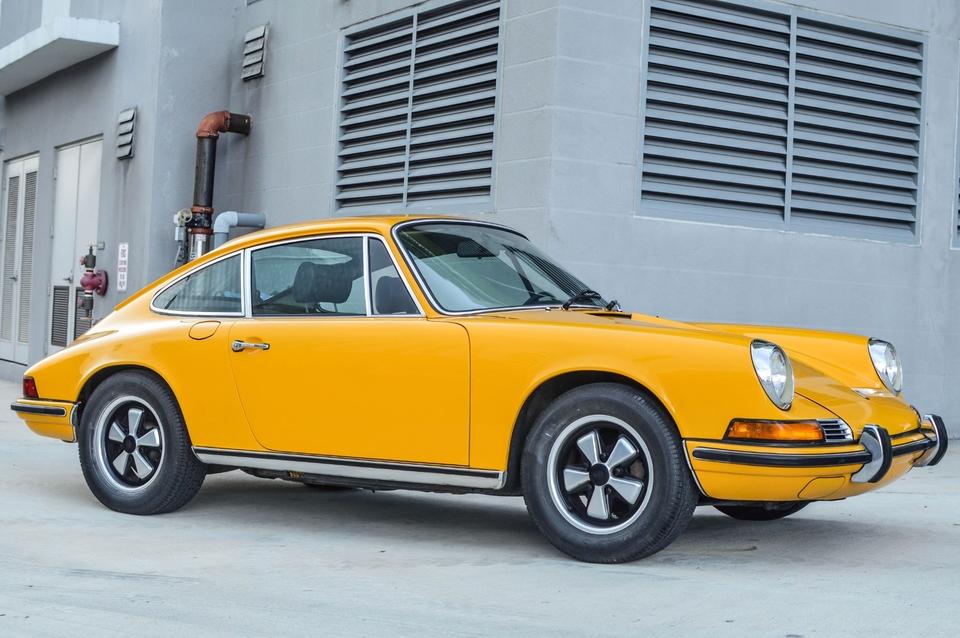 1972 Porsche 911T Signal Yellow