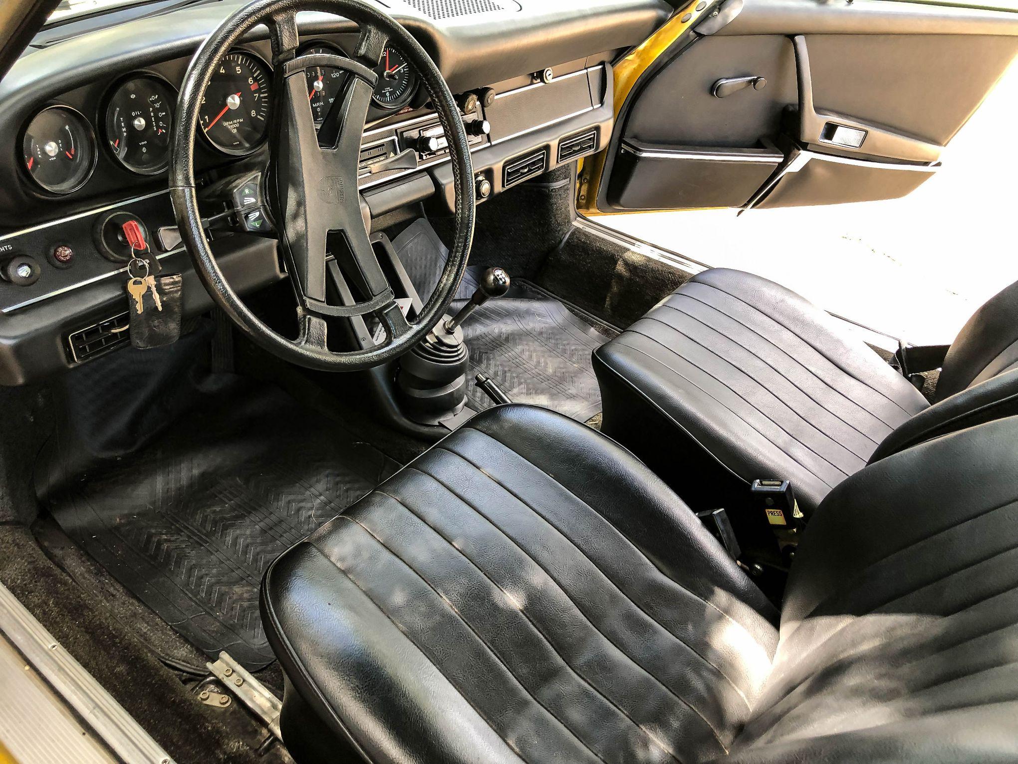 Dt 1973 Porsche 911t Targa Sportomatic Pcarmarket