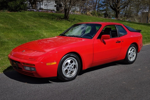 3K-Mile 1987 Porsche 944 Turbo 5-Speed