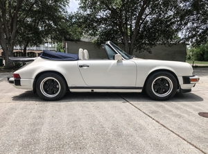 1988 Porsche 911 Carrera Cabriolet G50 5-Speed