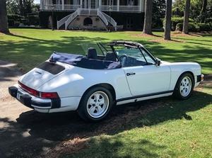 DT: 1988 Porsche 911 Cabriolet G50