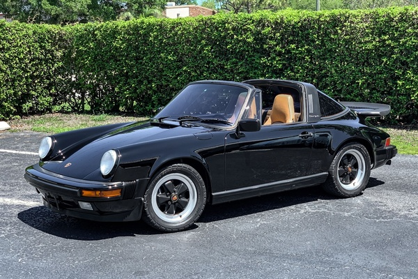 One-Owner 1988 Porsche 911 Carrera Targa G50 5-Speed