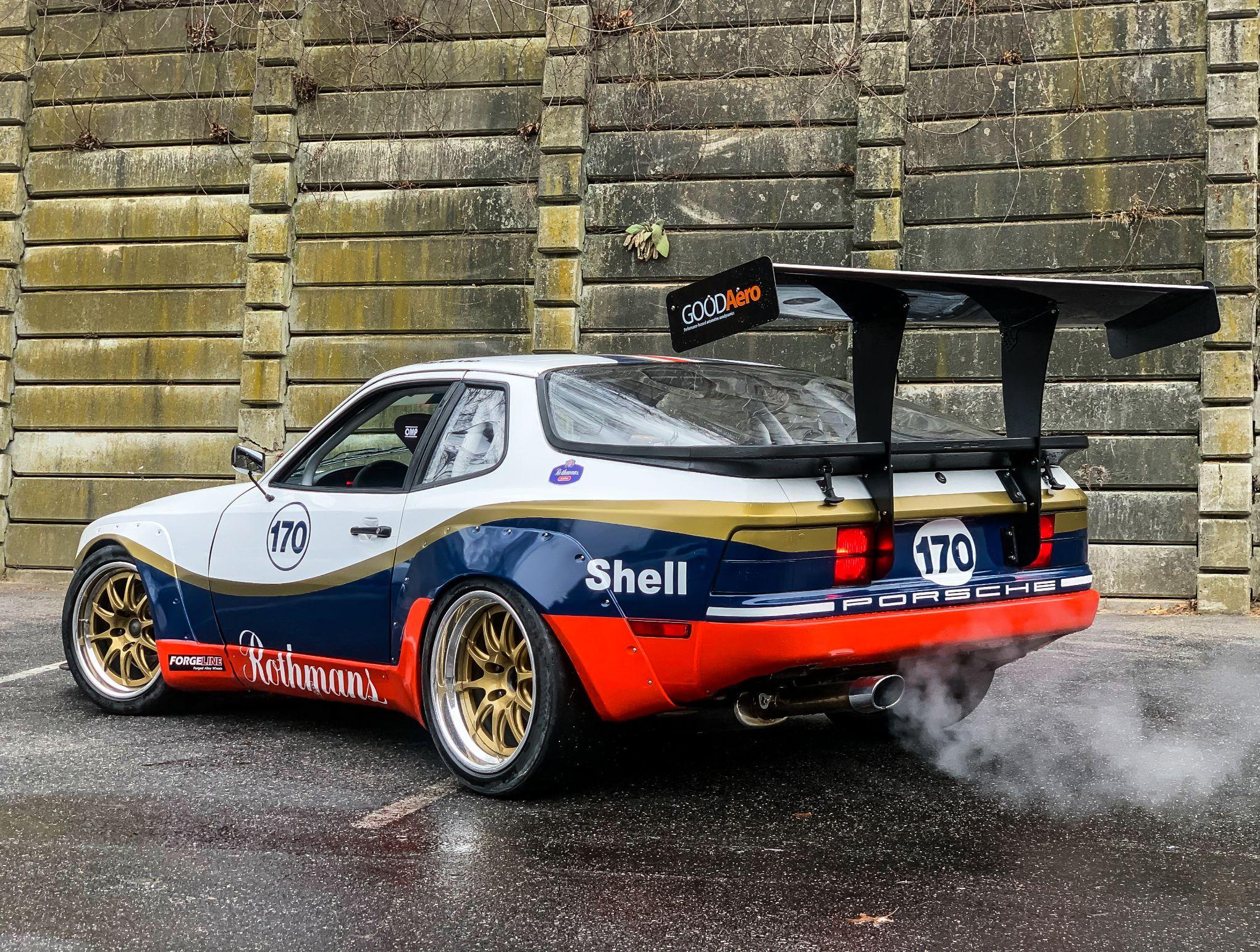 Dt 1989 Porsche 944 Turbo S Racecar Pcarmarket