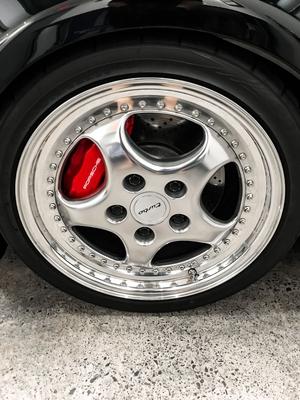 12K-Mile 1994 Porsche 964 3.6 Turbo