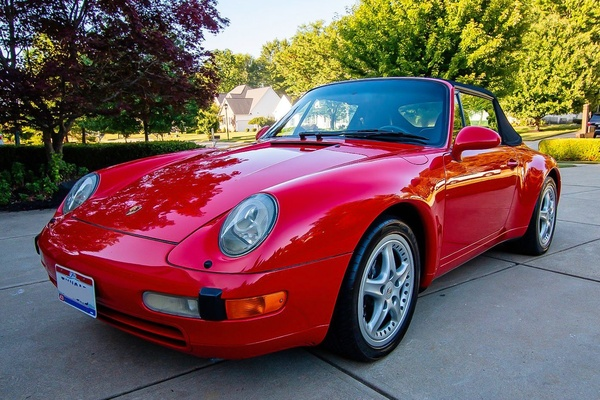 1995 Porsche 993 Carrera Cabriolet 6-Speed
