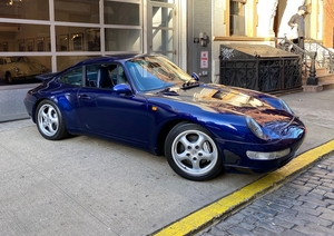 38K-Mile 1995 Porsche 993 Carrera 4 X51 6-Speed 3.8L