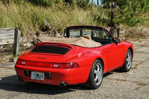 1996 Porsche 993 Carrera Cabriolet 6-Speed