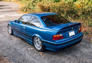 1996 BMW E36 M3 Estoril Blue
