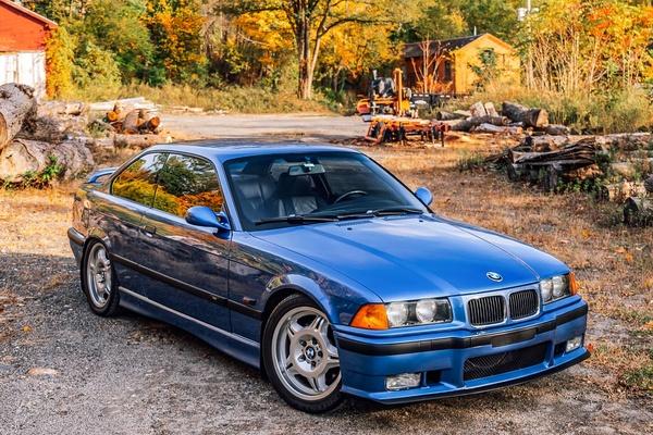 1996 BMW E36 M3 Estoril Blue