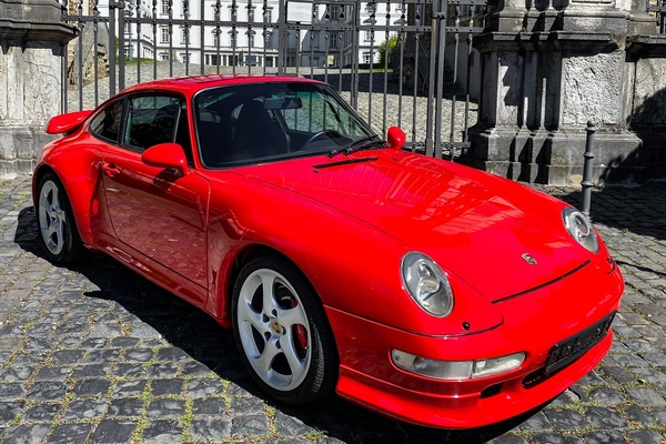 1996 Porsche 993 Turbo Coupe