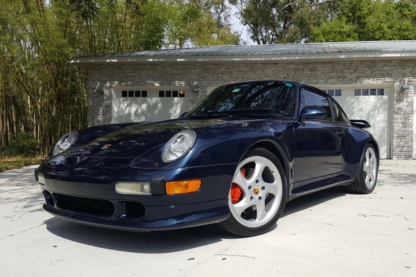 1997 Porsche 993 Carrera 4S 6-Speed