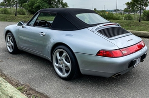 1998 Porsche 993 Carrera Cabriolet 6-Speed