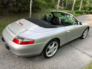 DT: 19K-Mile 2001 Porsche 996 Carrera 4 Cabriolet 6-Speed