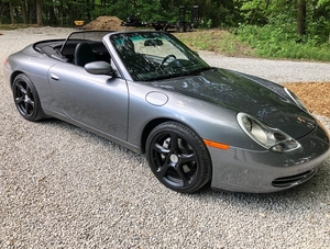 2001 Porsche 996 Carrera 4 Cabriolet 6-Speed