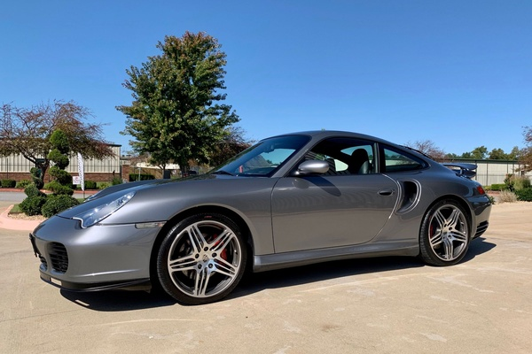 23K-Mile 2001 Porsche 996 Turbo Coupe Tiptronic S