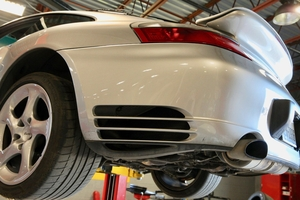 DT: 500HP 2001 Porsche 996 Turbo Coupe Tiptronic