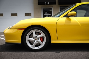 DT: 8K-Mile 2003 Porsche 996 Turbo X50 6-Speed