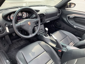 6-Speed 2005 Porsche 996 Turbo S Cabriolet
