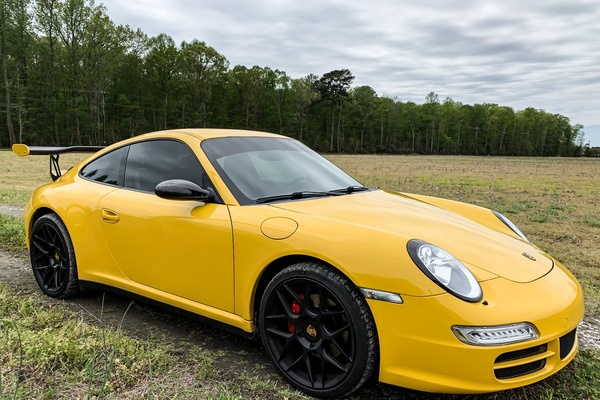 2006 Porsche 997 Carrera 4 Coupe 6-Speed