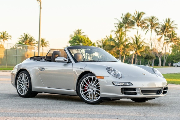 28K-Mile 2006 Porsche 997 Carrera S Cabriolet 6-Speed