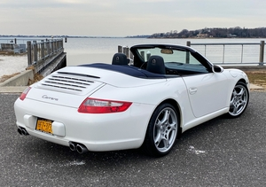 17K-Mile 2006 Porsche 997 Carrera Cabriolet 6-Speed