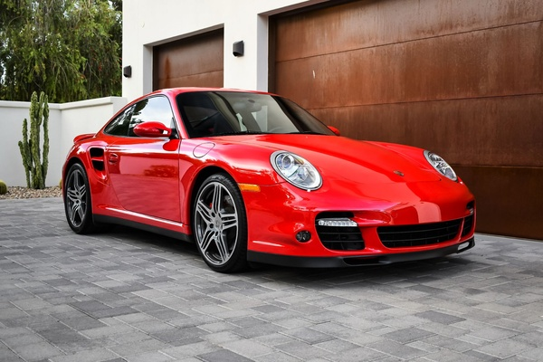 8K-Mile 2007 Porsche 997 Turbo Coupe 6-Speed