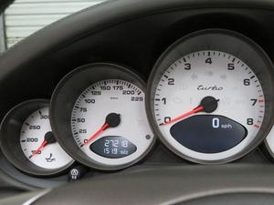 1-Owner 2008 Porsche 997 Turbo Cabriolet 6-Speed