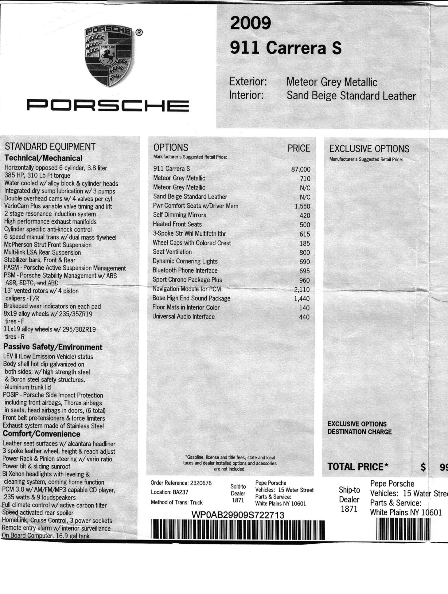 2009 Porsche 911 Carrera S Coupe 6-Speed   PCARMARKET