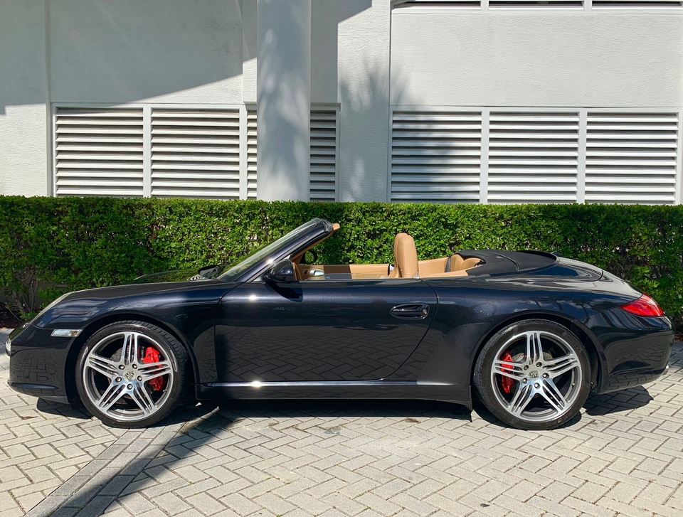 DT: 2009 Porsche 997 Carrera S Cabriolet 6-Speed Manual