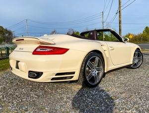 28K-Mile 2009 Porsche 911 Turbo Cabriolet 6-speed