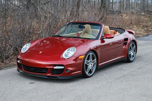 26K-Mile 2009 Porsche 997 Turbo Cabriolet 6-Speed