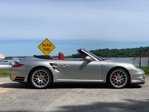 15K-Mile 2010 Porsche 911 Turbo Cabriolet 6-Speed