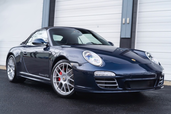 22K-Mile 2012 Porsche 997.2 Carrera GTS Cabriolet 6-Speed