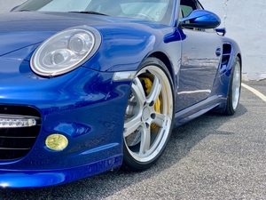 2012 Porsche 911 Turbo S Factory Aero Package