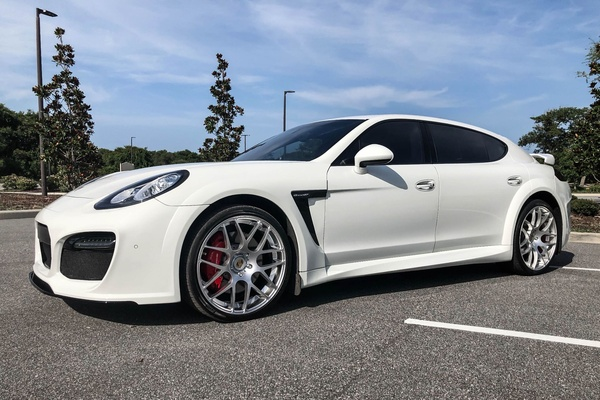 2014 Porsche Panamera Turbo Executive Tech Art Edition