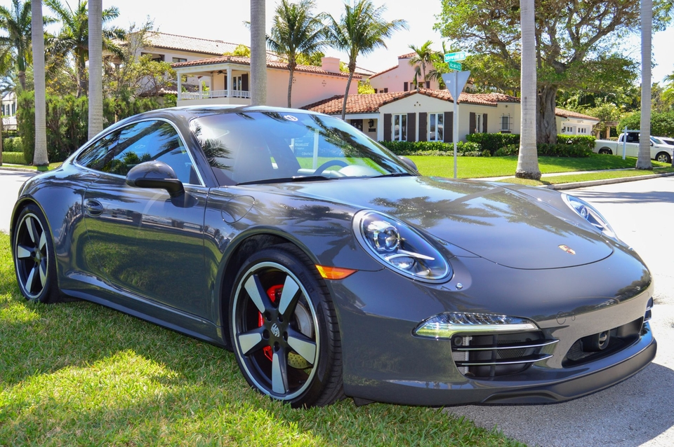 2014 Porsche 991 Carrera 50th Anniversary