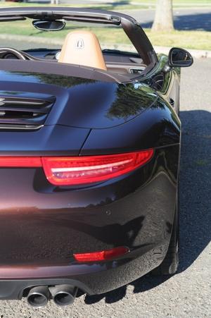Mahogany 2014 Porsche 991 C4S Cabriolet