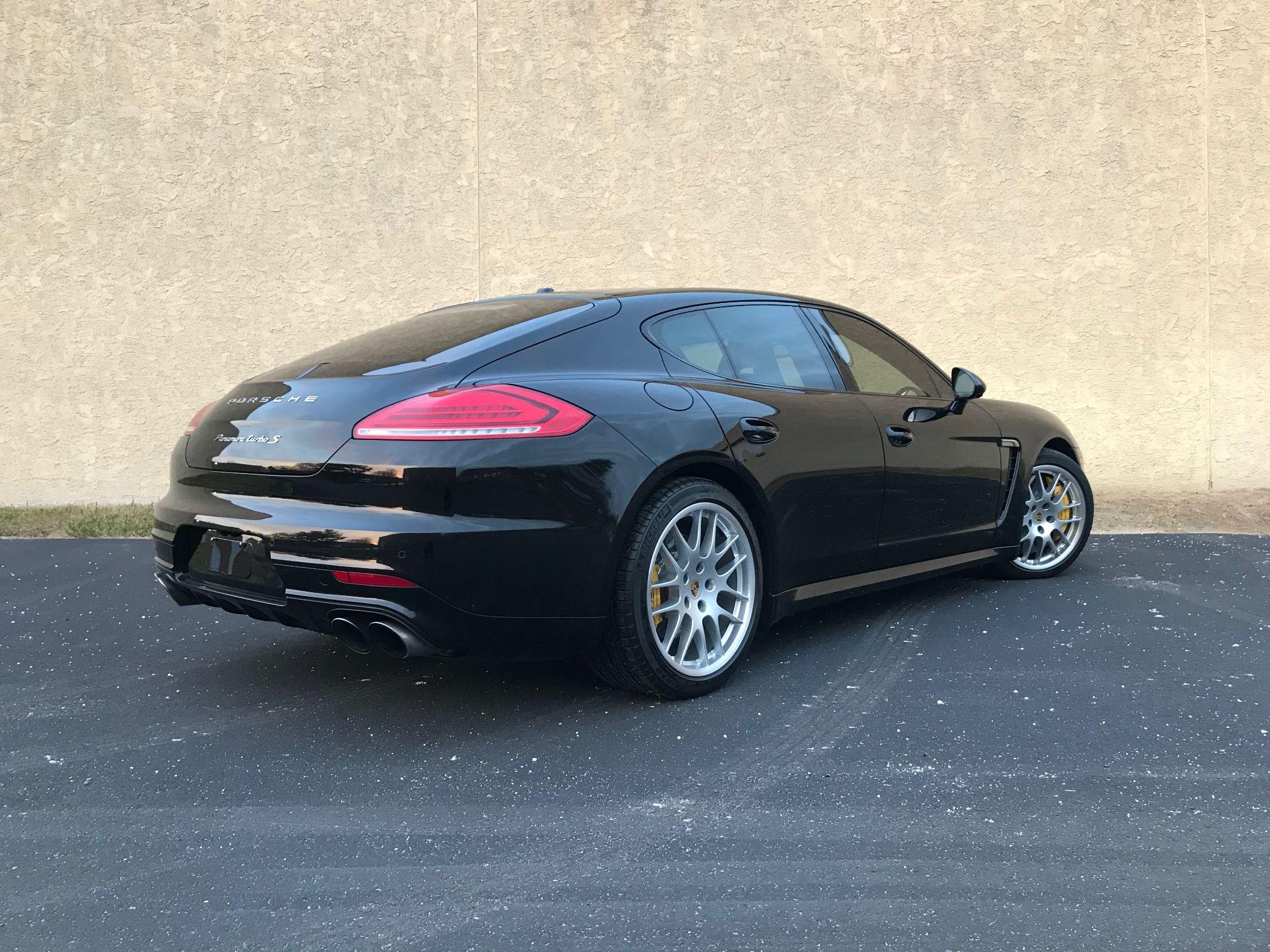 2015 Porsche Panamera Turbo S Pcarmarket
