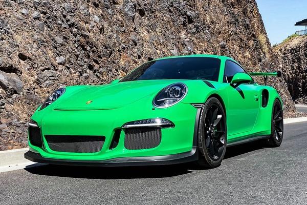 2016 Porsche 991 GT3 RS PTS Signal Green