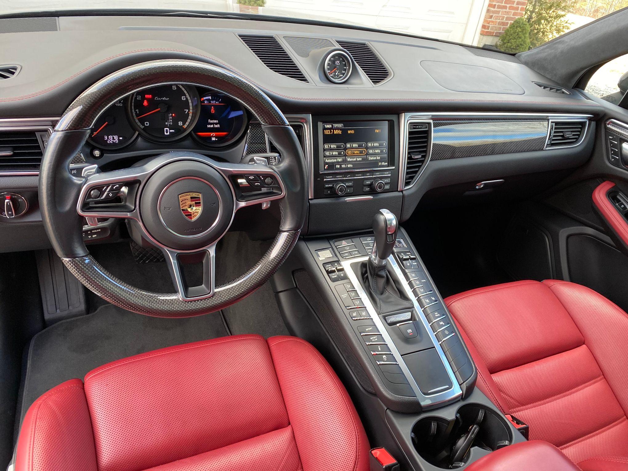 Dt 2016 Porsche Macan Turbo Pcarmarket