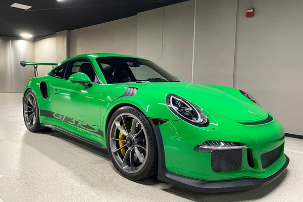 2K-Mile 2016 Porsche 991 GT3 RS PTS Viper Green