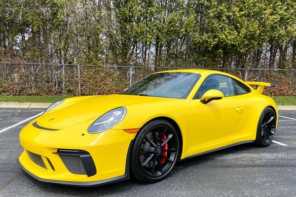 2K-Mile 2018 Porsche 991.2 GT3 Racing Yellow
