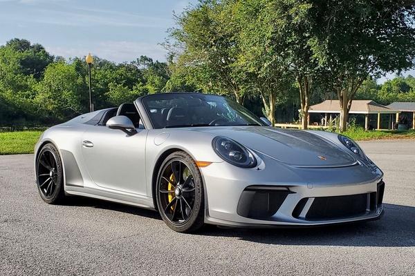 84-Mile 2019 Porsche 991.2 Speedster