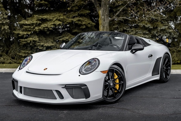 90-Mile 2019 Porsche 991.2 Speedster #622