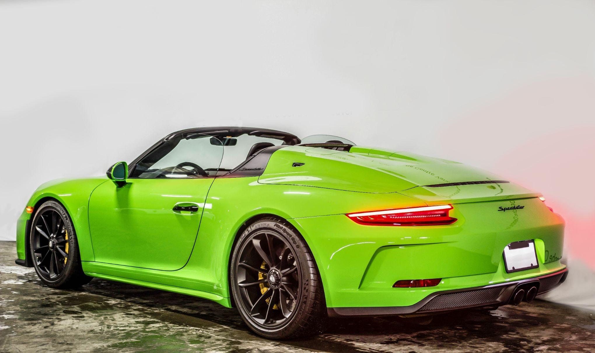 2019 Porsche 991.2 Speedster Lizard Green   PCARMARKET