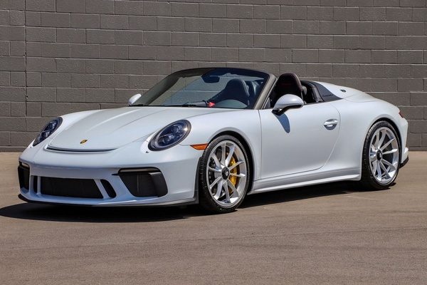16-Mile 2019 Porsche 991 Speedster 6-Speed