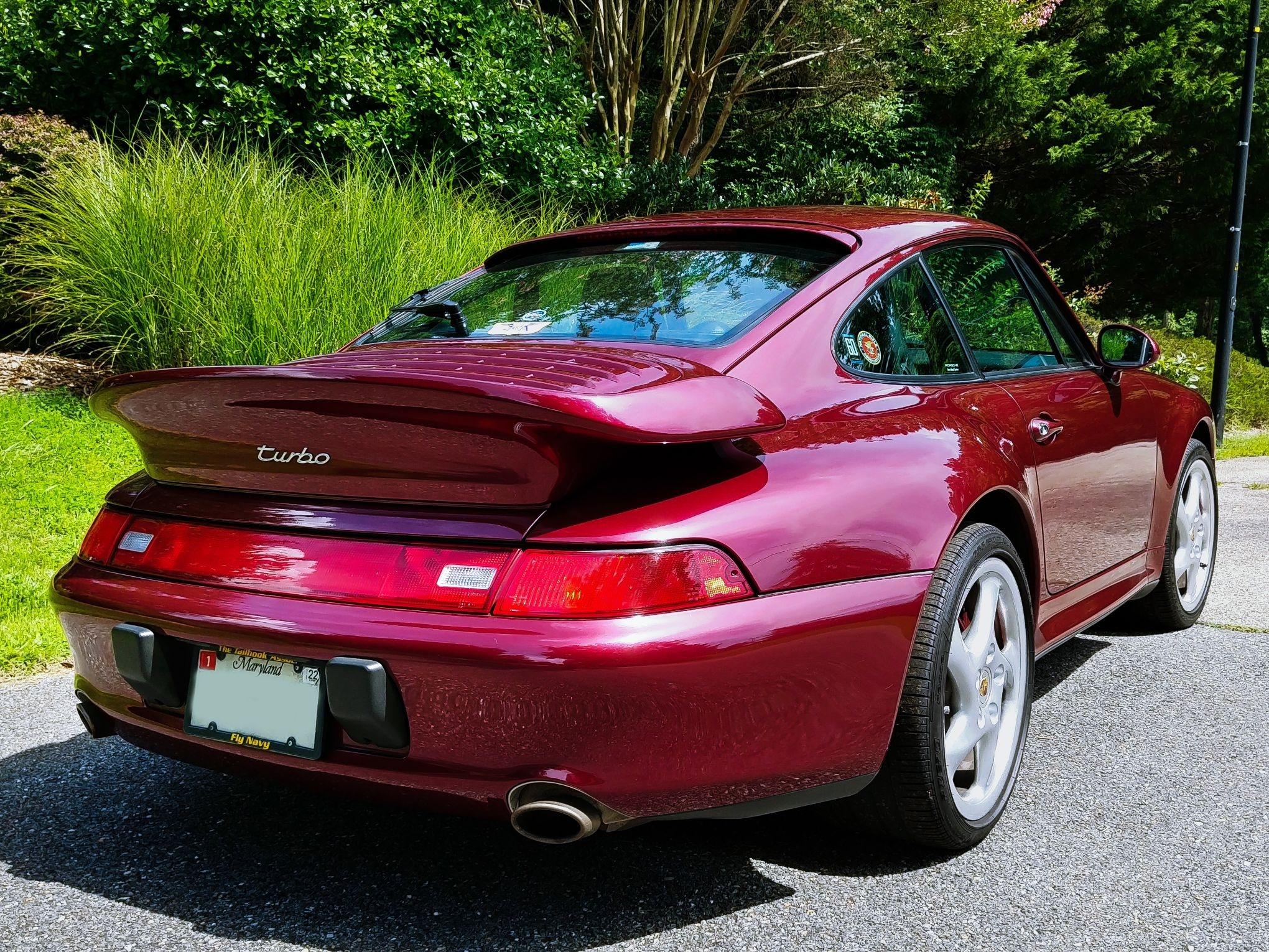 1996 Porsche 993 Turbo Arena Red Pcarmarket