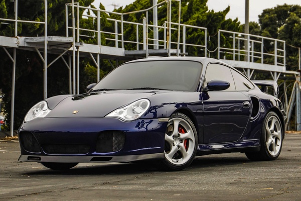 DT: 2003 Porsche 996 Turbo Coupe X50 6-Speed